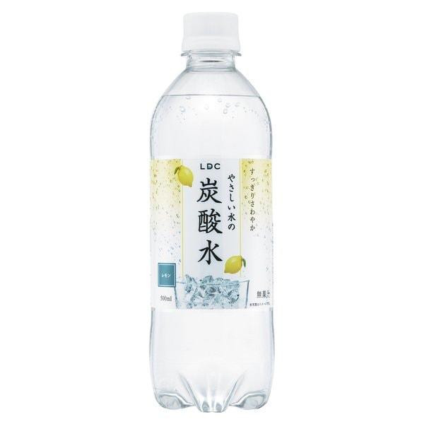 やさしい水の炭酸水レモン 500ml×24本 [炭酸飲料]