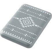 QX-055DG [Pattern mobile battery(パターン モバイルバッテリー) 5000mAh 2A ディムグレイ]