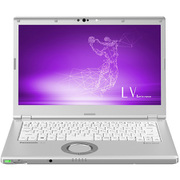 CF-LV8KDCQR [Let's note(レッツノート) LV8シリーズ ノートパソコン 14.0型/Core i5-8265U/メモリ 8GB/SSD 256GB/Microsoft Office Home & Business 2019/ドライブレス/シルバー]