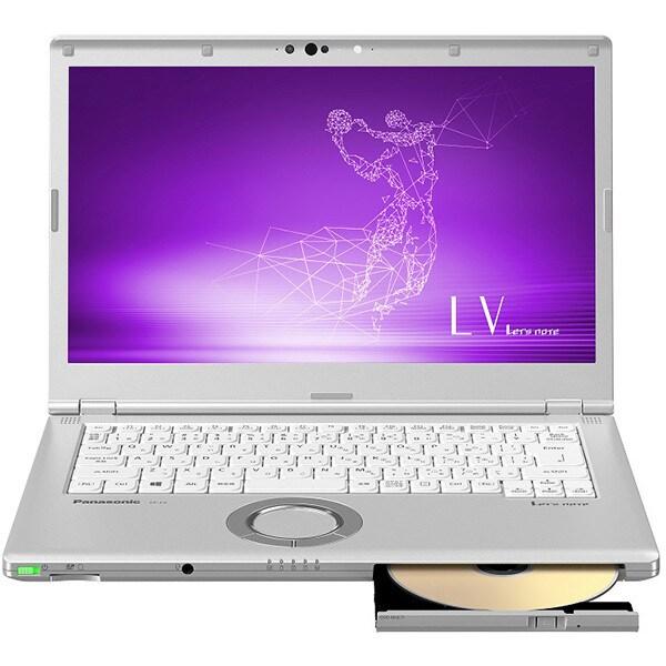 CF-LV8KDGQR [Let's note(レッツノート) LV8シリーズ ノートパソコン 14.0型/Core i5-8265U/メモリ 8GB/SSD 256GB/Microsoft Office Home & Business 2019/DVD/CDドライブ搭載/シルバー]