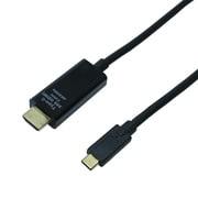 USB-CHDA3/BK [Type-C HDMI2.0 変換ケーブル ブラック 3m]