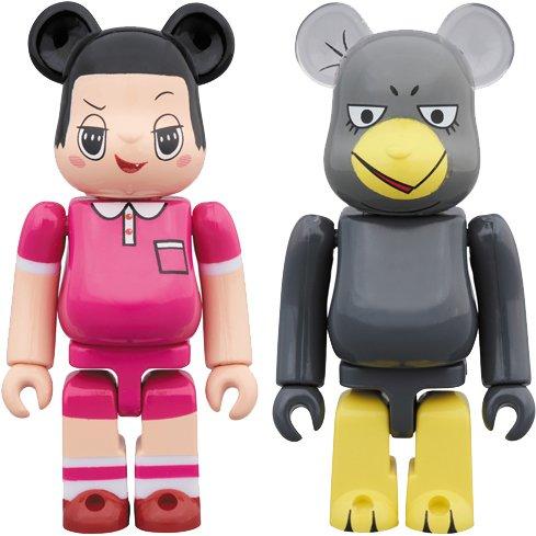 BE@RBRICK チコちゃん & キョエちゃん 2PACK [塗装済み可動フィギュア 全高約70mm]