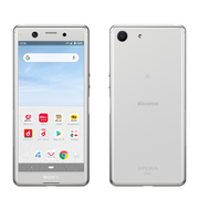 Xperia Ace SO-02L White [スマートフォン]