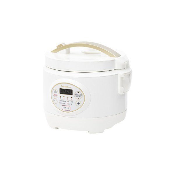 VI-RCL3A-WT [低糖質炊飯器 3合 ホワイト]