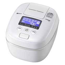 JPC-G100 WA [圧力IH炊飯ジャー 炊きたて 5.5合炊き 360°デザイン かまど熱封土鍋コーディング エアリーホワイト]