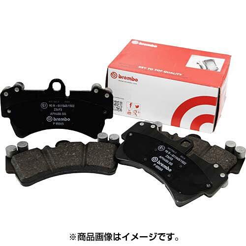 フロントP50 115 [Brembo ブラックパッド]