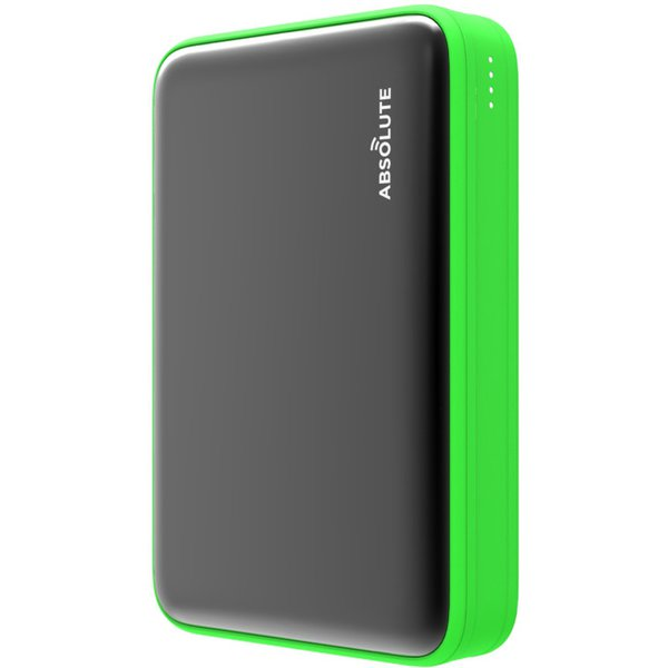 fast-charge-mini-10000-grn [Type-C PD・QC3.0搭載モバイルバッテリー ブラック x グリーン]