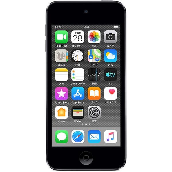 iPod touch (第7世代 2019年モデル) 32GB スペースグレイ [MVHW2J/A]
