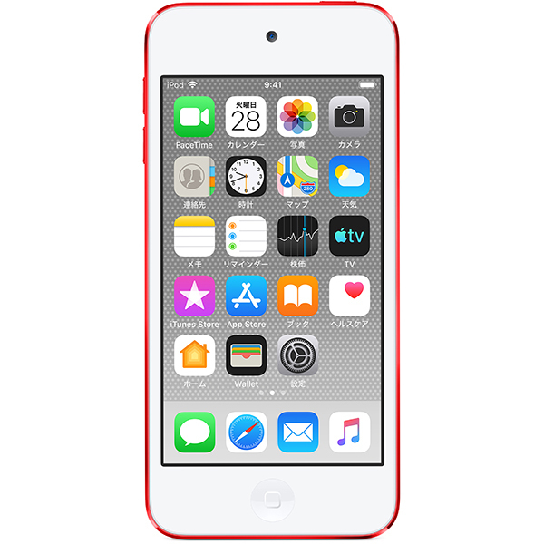 iPod touch (第7世代 2019年モデル) 128GB (PRODUCT)RED [MVJ72J/A]