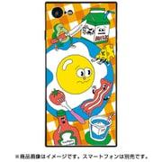 BJ-0021-IP78-ORNG [スクエア型 ガラスケース iPhone 8/7 Breakfasttime]