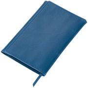GLV1201A [GLOIRE合皮製ブックカバー(文庫サイズ) ブルー]
