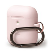 EL_A2WCSSCHW_LP [elago AIRPODS HANG CASE for AirPods 2nd Generation Wireless Charging Case for AirPods 2nd Wireless (Lovely Pink)]
