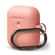 EL_A2WCSSCHW_PC [elago AIRPODS HANG CASE for AirPods 2nd Generation Wireless Charging Case for AirPods 2nd Wireless (Peach)]