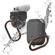 EL_APDCSSCWA_DG [elago AirPods WaterProof Hang Case Active for AirPods (Dark Gray)]