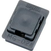 000017 [マイゾックス アルミスタッフ角型ボタン MG-02A]