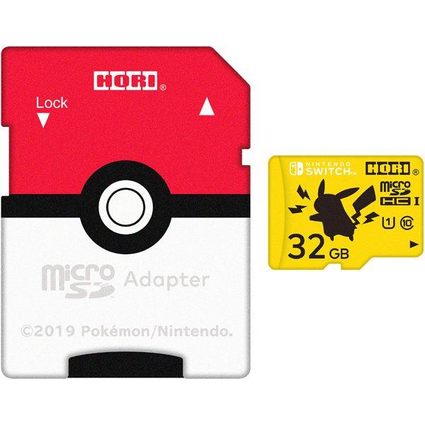 NSW-190 [ポケットモンスター microSDカード for Nintendo Switch 32GB ピカチュウ]