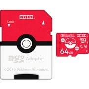 NSW-191 [ポケットモンスター microSDカード for Nintendo Switch 64GB モンスターボール]