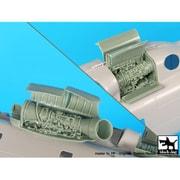 HAUA72053 MH-53E シードラゴン エンジン イタレリ用 [1/72スケール レジン製パーツ]