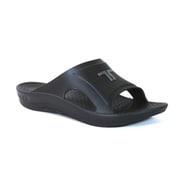 LOGO IMPACT SLIDE Black Silver XL(27.5-28cm) [リカバリーサンダル]