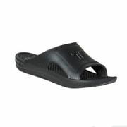 SLIDE Black L(26.5-27cm) [リカバリーサンダル]