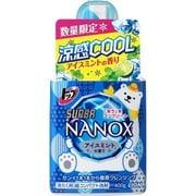 限定 トップスーパーNANOX 涼感クールアイスミントの香り 本体 400g [洗濯洗剤]