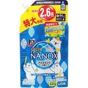 限定 トップスーパーNANOX 涼感クールアイスミントの香り 詰替特大 840g [洗濯洗剤]