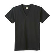 HK15153 G.T.HAWKINS VネックTシャツ 3枚組 ブラック L