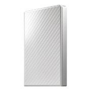 HDPT-UTS500W [USB 3.1 Gen 1対応 ポータブルHDD セラミックホワイト 500GB]