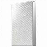 HDPT-UTS2W [USB 3.1 Gen 1対応 ポータブルHDD セラミックホワイト 2TB]
