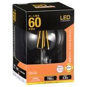LDG5L [C6 LED電球 フィラメントボール形 E26 60形相当]