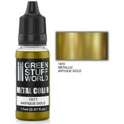 GSWC-1871 メタルカラー アンティークゴールド [模型用水性アクリル塗料]