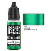 GSWC-1873 メタルカラー サイレンスケールグリーン [模型用水性アクリル塗料]