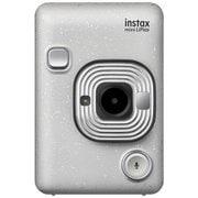 チェキカメラ INS MINI HM1 STONE WHITE [ハイブリッドインスタントカメラ instax mini LiPlay ストーンホワイト]
