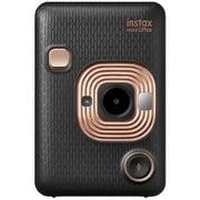 チェキカメラ INS MINI HM1 ELEGANT BLACK [ハイブリッドインスタントカメラ instax mini LiPlay エレガントブラック]