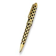 漆芸ボールペン 純金箔市松
