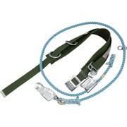 4E-GR [タイタン 胴ベルト型安全帯U字つり・1本つり兼用 緑]