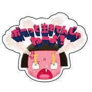 NHCK413 ダイカットシール チコちゃん フォト シカリガオ [キャラクターグッズ]