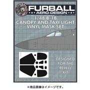 FMS-019 B-1B キャノピー&タクシーライト用 マスクセット [1/48スケール エアクラフト用マスクセット]