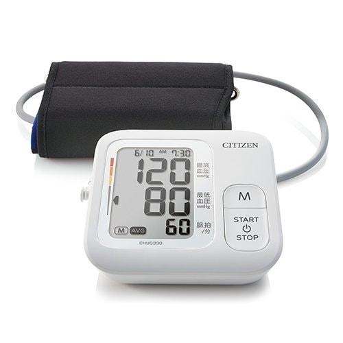 CHUG330-WH [上腕式血圧計 ホワイト]