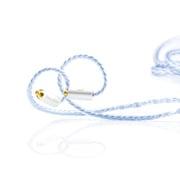 BEA-6714 [Silversonic MKVI 8-Wire - MMCX - 4.4mm イヤホンケーブル]