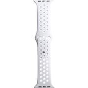 RM-3436WAT4404 [AppleWatch互換バンド グレー×ホワイト 42-44mm]