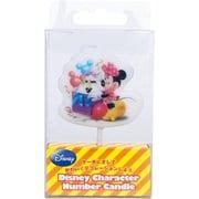 B75320021 ディズニーキャラクターナンバーキャンドル ミニーマウス [キャラクターグッズ]