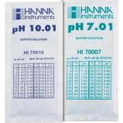 73034 [シンワ 標準液 酸校正用(pH10.01、pH7.01)3組入]