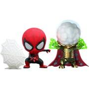 コスベイビー 『スパイダーマン:ファー・フロム・ホーム』 サイズS スパイダーマン (ウェブ・シューティング版)&ミステリオ 2体セット [フィギュア]