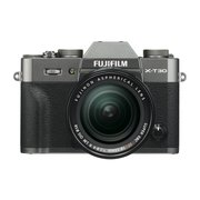 FUJIFILM X-T30 XF18-55mm レンズキット チャコールシルバー [ボディ+交換レンズ「XF18-55mmF2.8-4R LM OIS ブラック」]