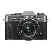 FUJIFILM X-T30 XC15-45mm レンズキット チャコールシルバー [ボディ+交換レンズ「XC15-45mm F3.5-5.6 OIS PZ ブラック」]