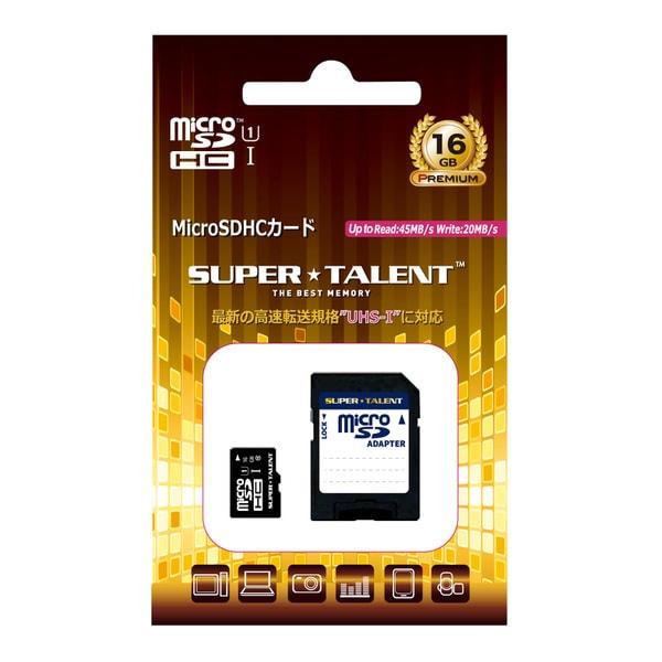 ST16MSU1P [Premium microSDHCカード 16GB UHS-I U1対応 Class10 SDアダプタ付]