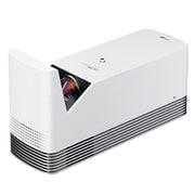 HF85LS [CineBeam 超短焦点プロジェクター/フルHD(1920×1080) 最大120インチ/1,500ルーメン/レーザー光源/DLP方式/Tru-Motion/WebOS/3W+3W スピーカー/台形補正/スクリーンシェア/YouTube/マジックリモコン]