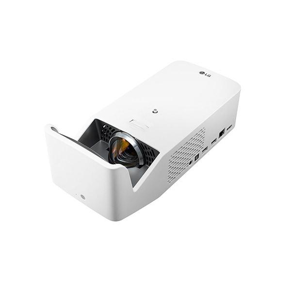 HF65LS [CineBeam プロジェクター 超短焦点 フルHD(1920×1080) 最大100インチ/1,000ルーメン/LED光源/DLP方式/Tru-Motion/自動キーストーン/台形補正/スクリーンシェア/3W+3W スピーカー/WebOS/YouTube/マジックリモコン]