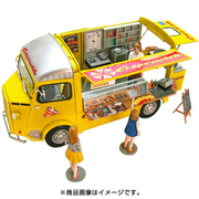 25013 CITROEN H Crepe mobile with Figure [1/24スケール プラモデル]